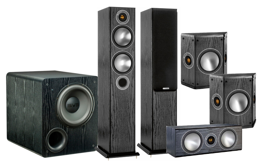 Monitor Audio Bronze 5AV + PB-2000 - 25770