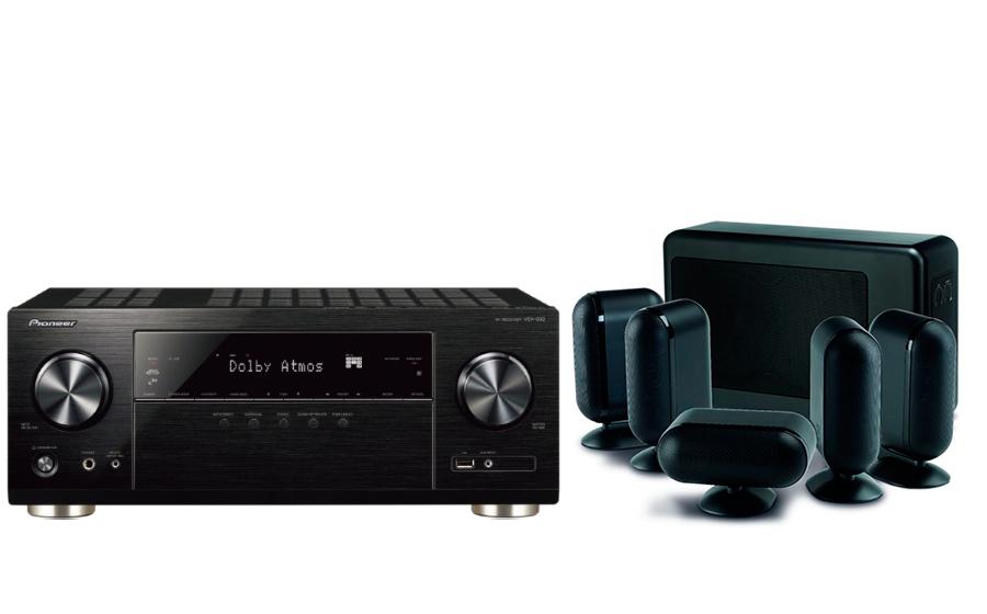 Pioneer VSX-932 + 7000i 5.1 Slim - 26120