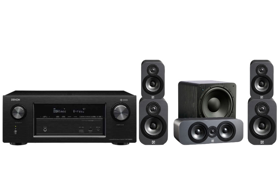 Denon AVR-X3400H + 3020 Cinema Pack + SB-1000 - 26166