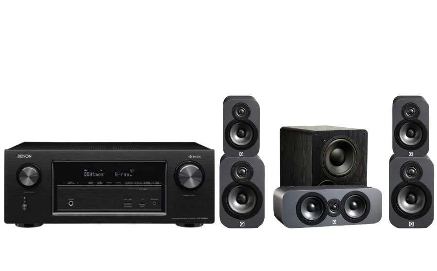 Denon AVR-X3400H + 3020 Cinema Pack + PB-1000 - 26167