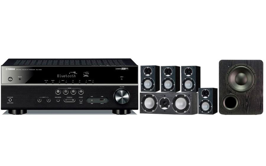 Yamaha RX-V483 + Mercury 7.1+PB1000 - 26197