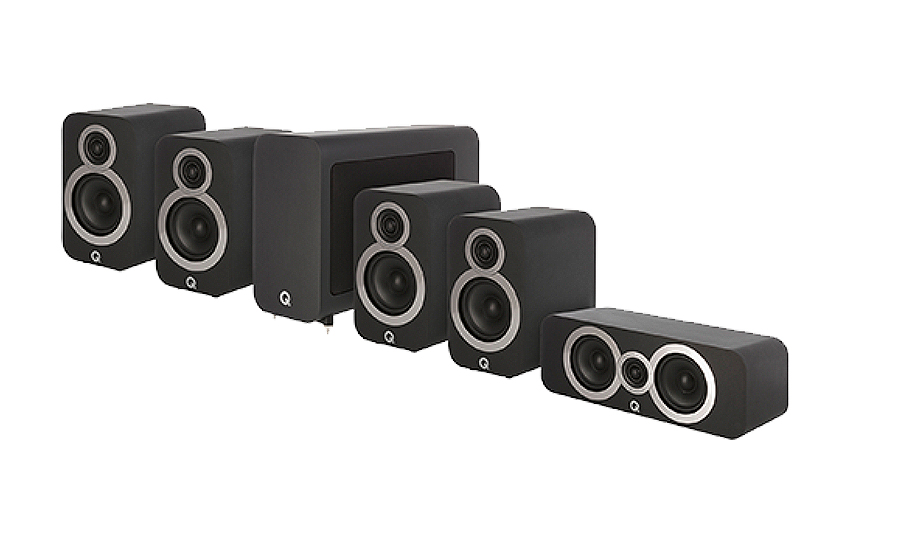Q-Acoustics 3010i Cinema Pack - 27495