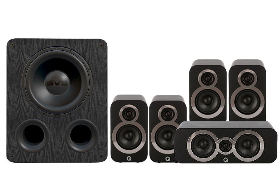 Q-Acoustics 3010i Cinema Pack + PB 1000 - 27532