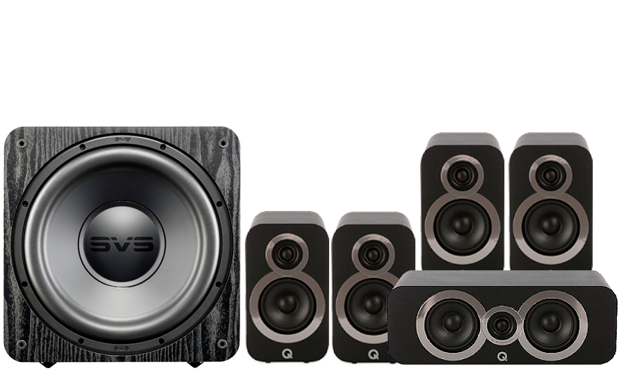 Q-Acoustics 3010i Cinema Pack + SB 1000 - 27534