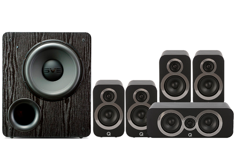 Q-Acoustics 3010i Cinema Pack + PB 2000 - 27535