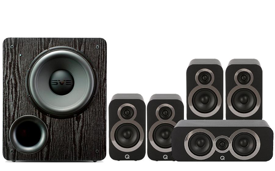 Q-Acoustics 3010i Cinema Pack + PB 2000 - 27535