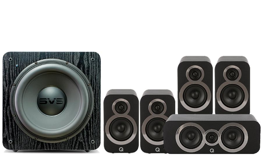 Q-Acoustics 3010i Cinema Pack + SB 2000 - 27536
