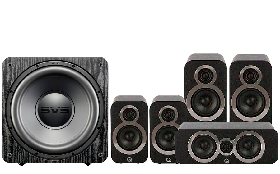 Q-Acoustics 3020i Cinema Pack + SB 1000 - 27538