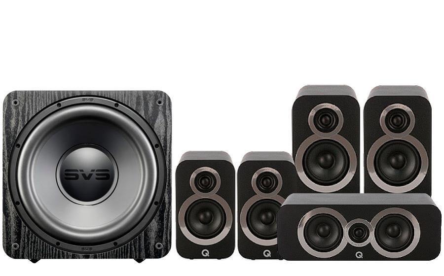 Q-Acoustics 3020i Cinema Pack + SB 1000 - 27538