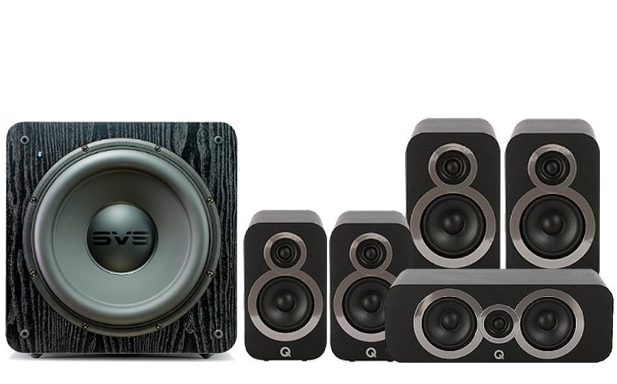 Q-Acoustics 3020i Cinema Pack + SB 2000 - 27540