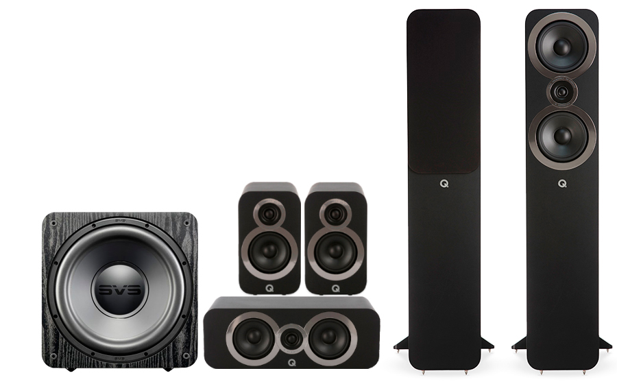 Q-Acoustics 3050i Cinema Pack + SB 1000 - 27543