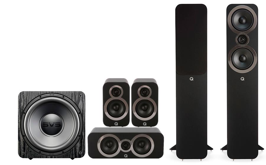 Q-Acoustics 3050i Cinema Pack + SB 1000 - 27543
