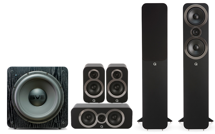 Q-Acoustics 3050i Cinema Pack + SB 2000 - 27545