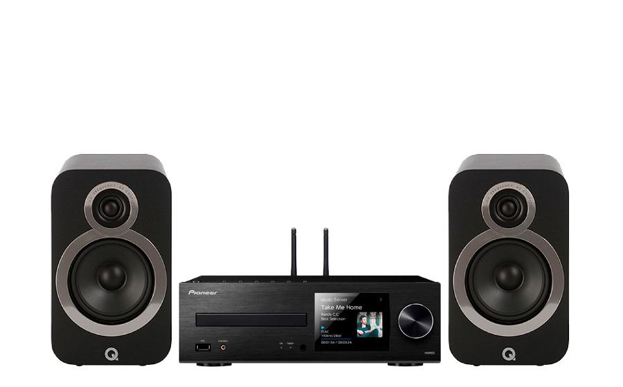 Pioneer XC-HM86D + Q3020i - 27576