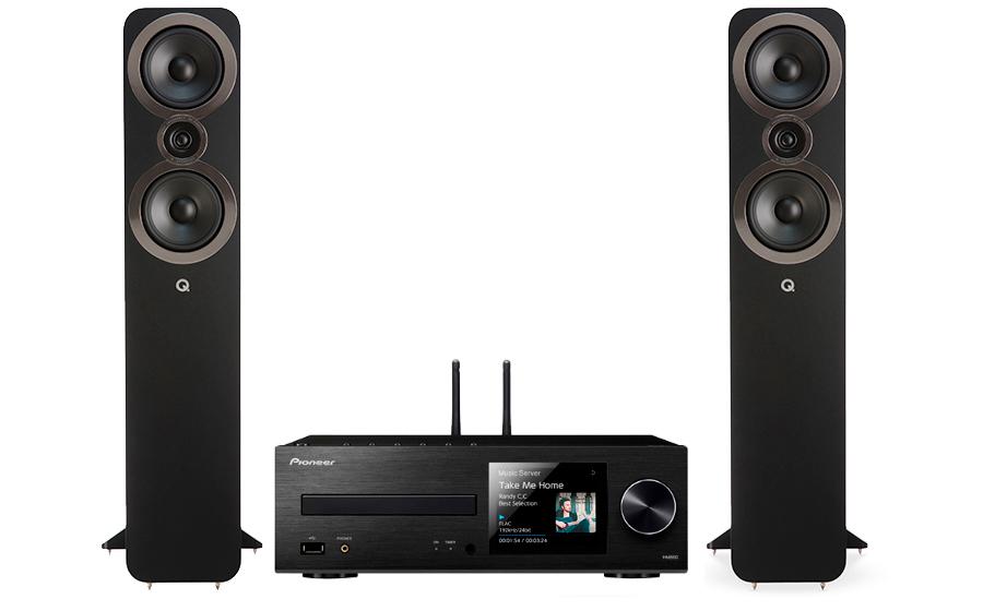 Pioneer XC-HM86D + Q3050i - 27577