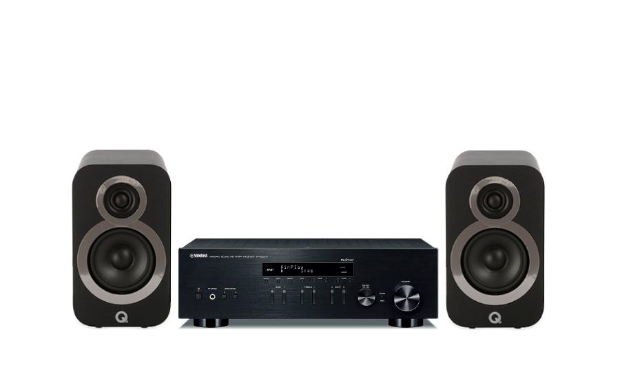Yamaha R-N303D + Q3010i - 27599