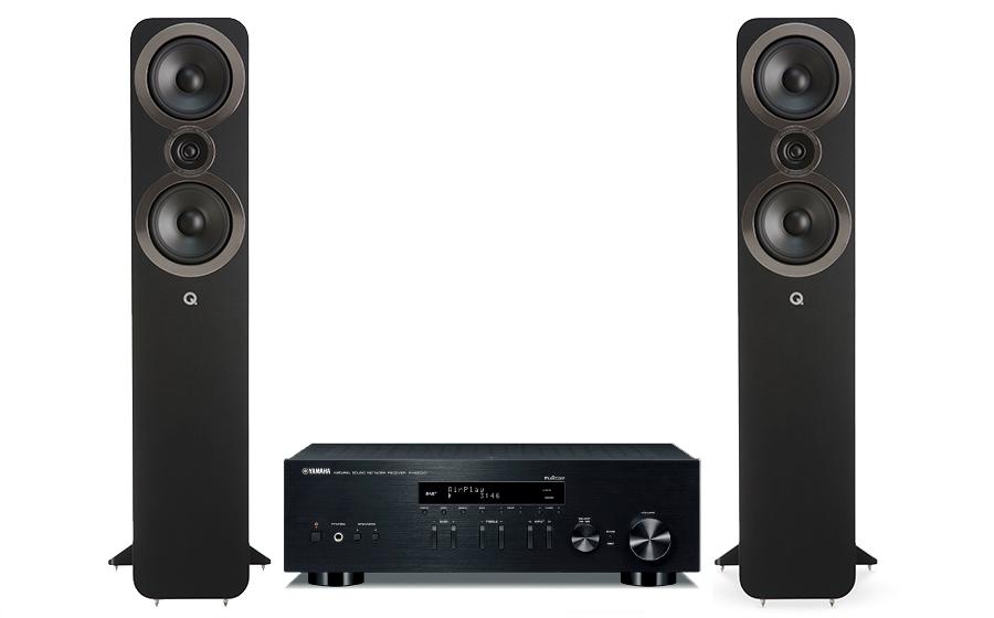 Yamaha R-N303D + Q3050i - 27601