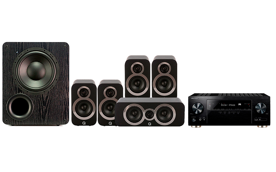 Pioneer VSX-933 + 3010i Cinema Pack + PB 1000 - 27694