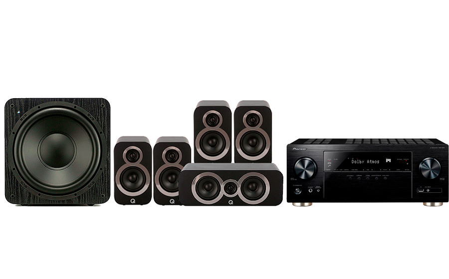 Pioneer VSX-933 + 3010i Cinema Pack + SB 1000 - 27695