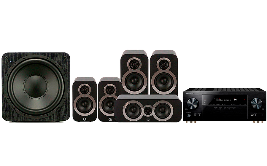 Pioneer VSX-933 + 3020i Cinema Pack + SB 1000 - 27697