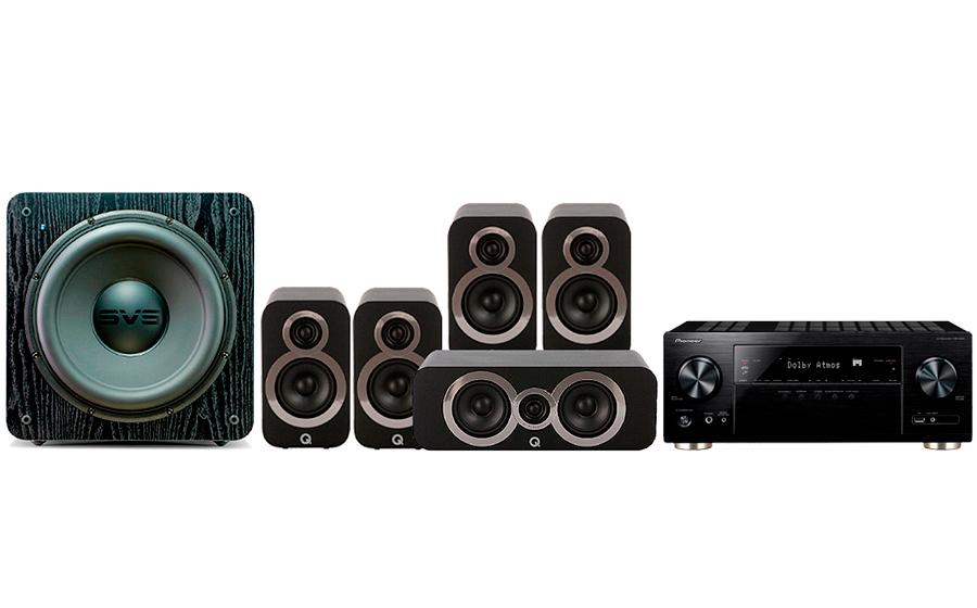 Pioneer VSX-933 + 3010i Cinema Pack + SB 2000 - 27698
