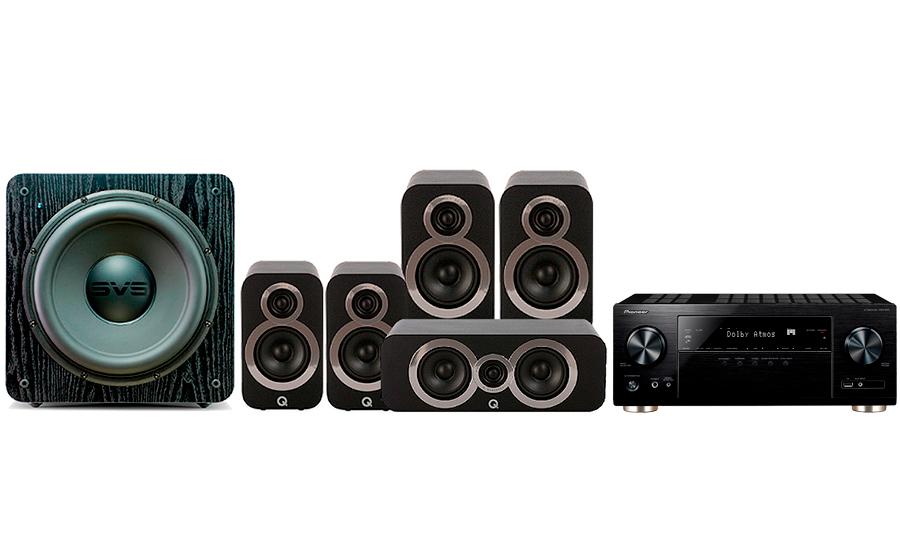 Pioneer VSX-933 + 3020i Cinema Pack + SB 2000 - 27700