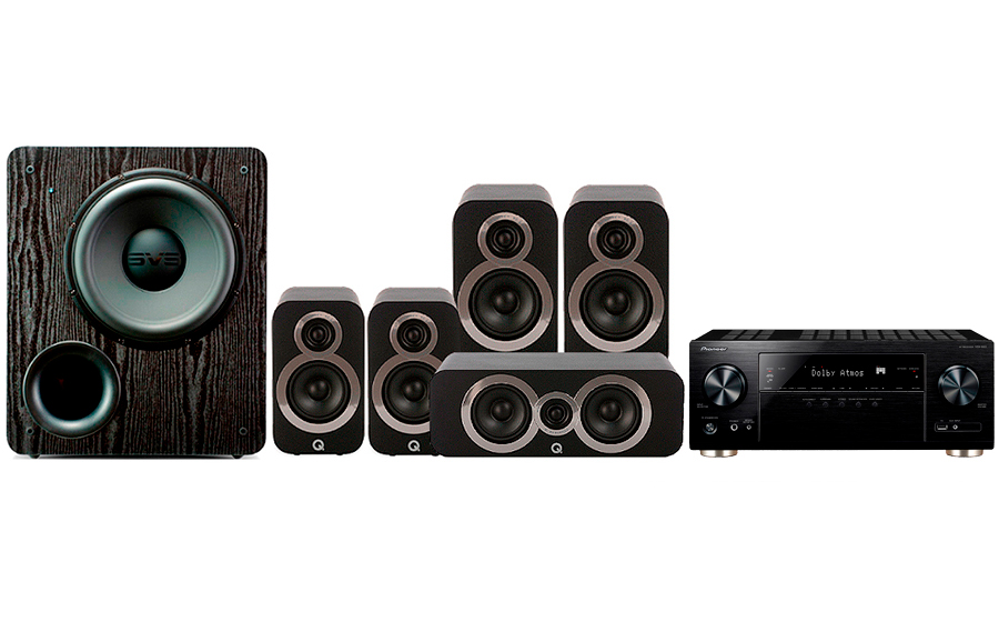 Pioneer VSX-933 + 3020i Cinema Pack + PB 2000 - 27701