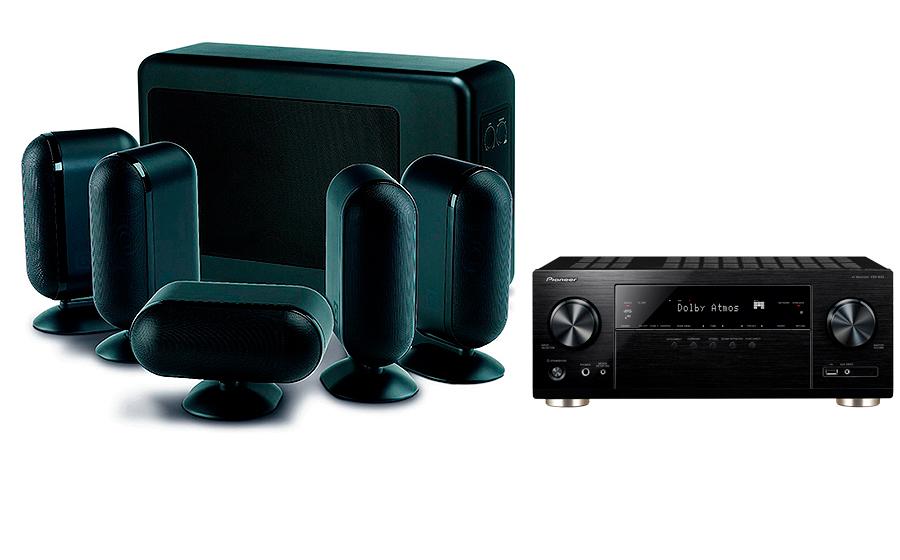 Pioneer VSX-933 + 7000i 5.1 Slim - 27711