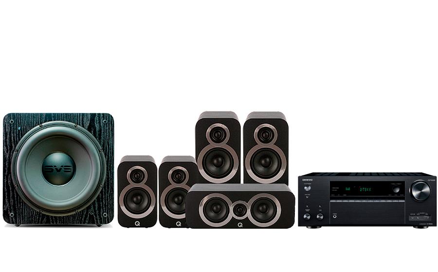 Onkyo TX-NR686 + 3020i Cinema Pack + SB 2000 - 27725