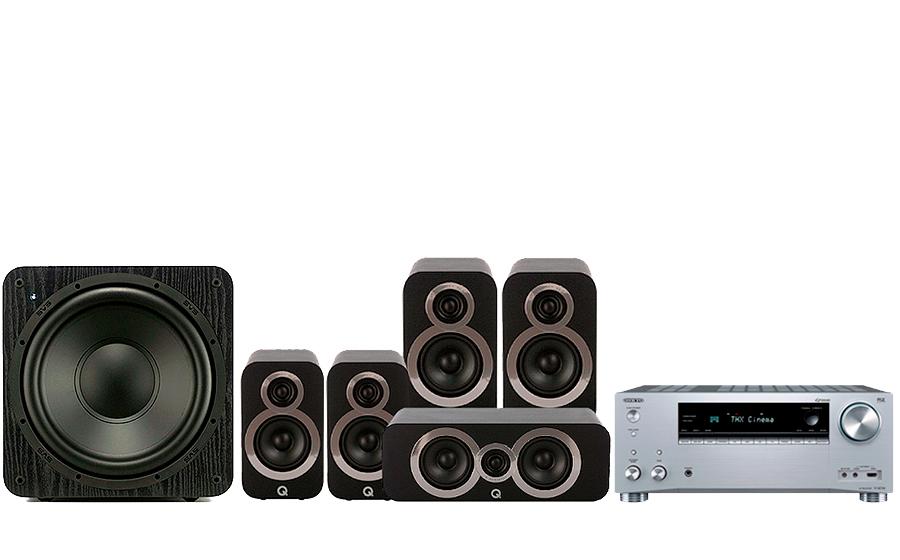 Onkyo TX-RZ730 + 3020i Cinema Pack + SB 1000 - 27761