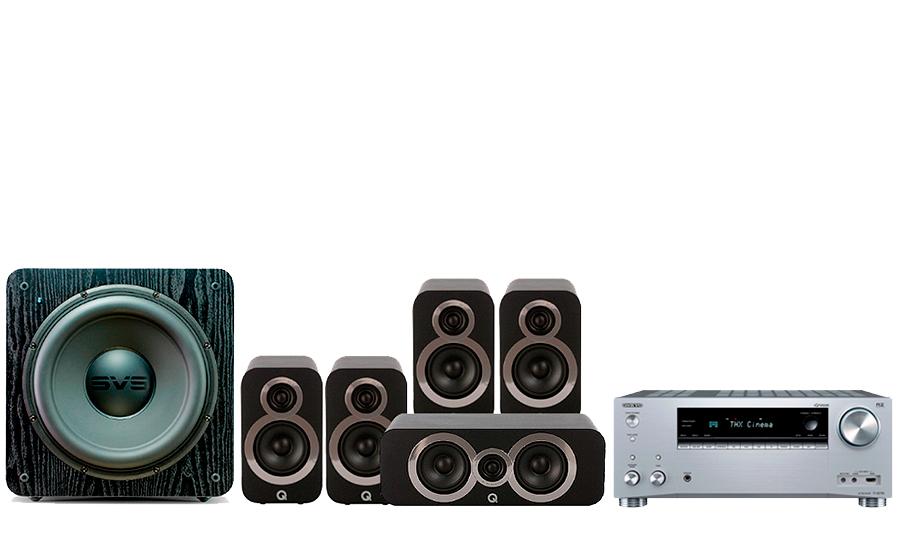 Onkyo TX-RZ730 + 3010i Cinema Pack + SB 2000 - 27764
