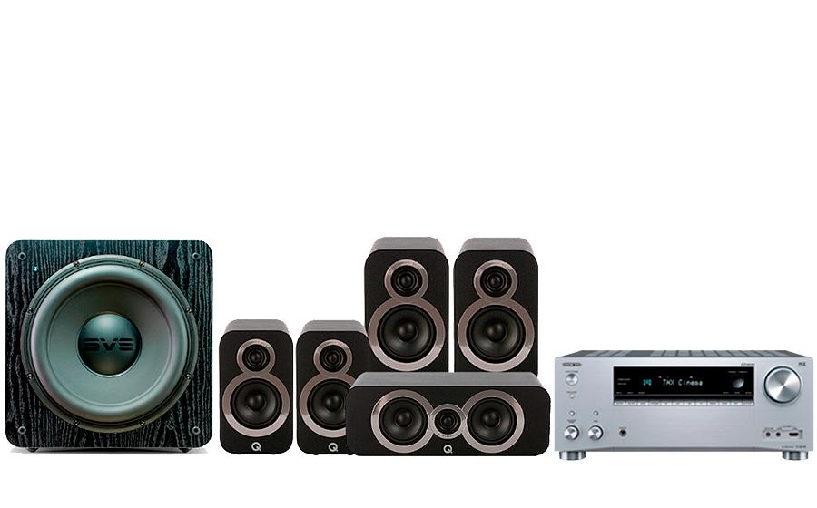 Onkyo TX-RZ730+ 3020i Cinema Pack + SB 2000 - 27766