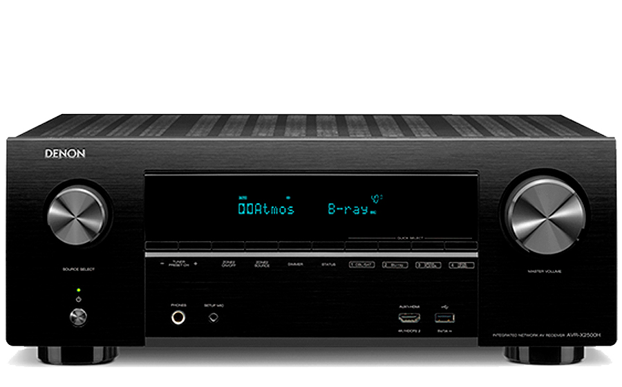Denon AVR-X2500H - 27843