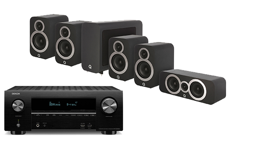 Denon AVR-X2500H + 3010i Cinema Pack - 28001