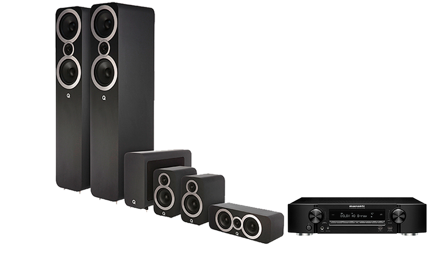 Marantz NR1509 + Q3050i Cinema Pack - 28077