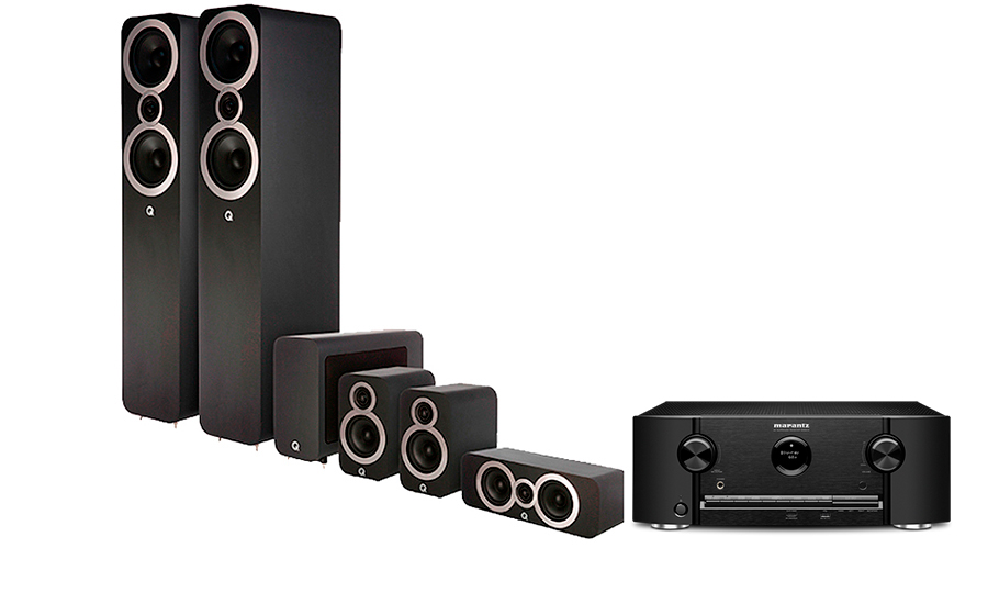 Marantz SR5013 + Q3050i Cinema Pack - 28452