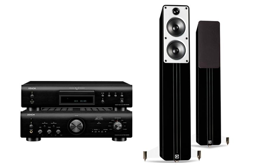 Denon PMA-800NE + DCD-800NE + Concept 40 - 28537