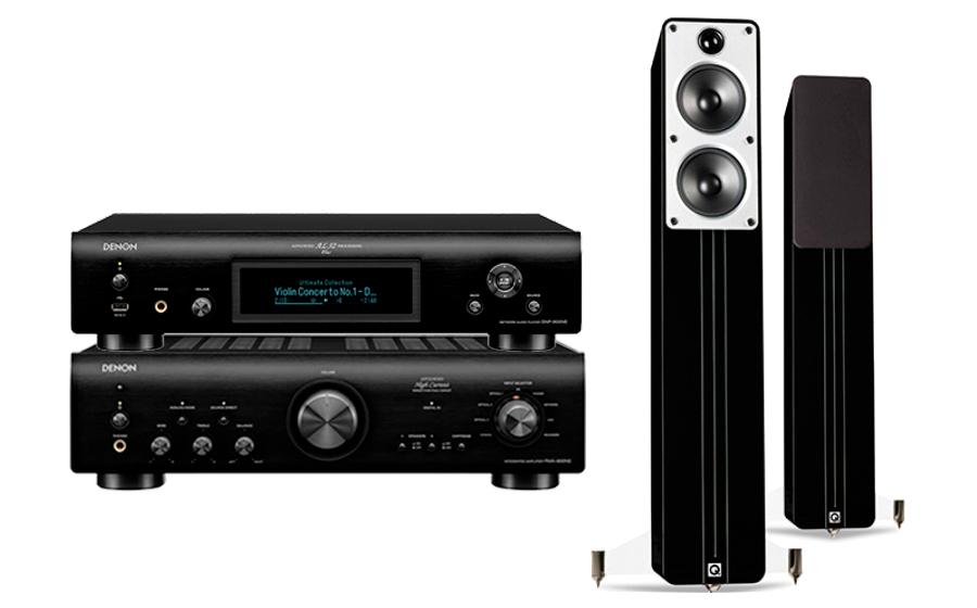 Denon PMA-800NE + DNP-800NE + Concept 40 - 28541