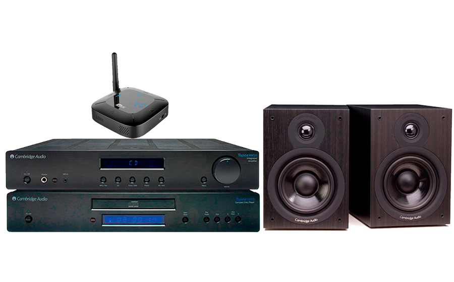 Cambridge Audio TOPAZ AM10+TOPAZ CD10+SX50+CONNECT HUB  - 28628