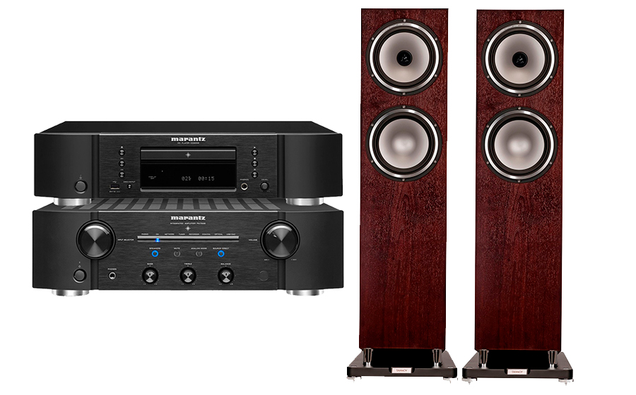 Marantz PM7005+CD6006+Revolution XT 8F - 28832