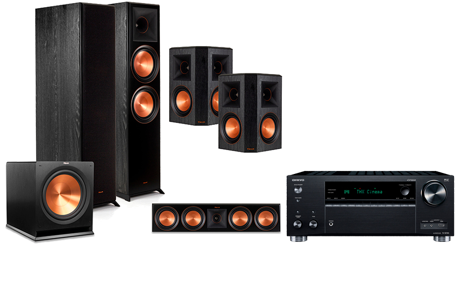 Onkyo TX-RZ730 + RP-8000 Home Theater System - 29058