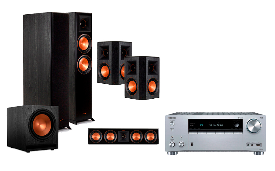Onkyo TX-RZ730 + RP-6000 Home Theater System - 29059