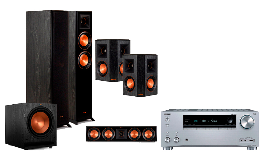 Onkyo TX-RZ730 + RP-5000 Home Theater System - 29060