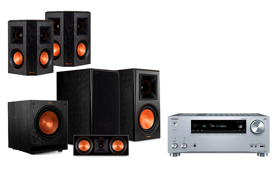 Onkyo TX-RZ730 + RP-600 Home Theater System - 29061