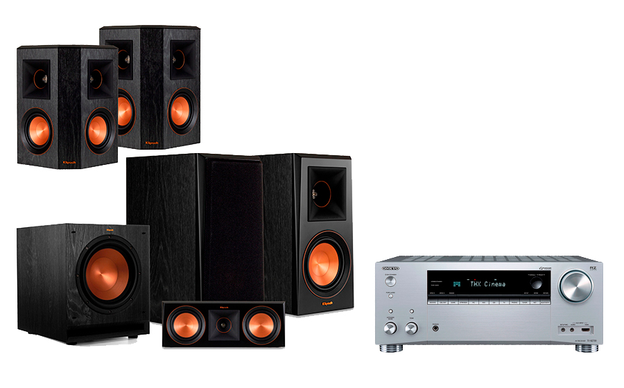 Onkyo TX-RZ730 + RP-500 Home Theater System - 29062