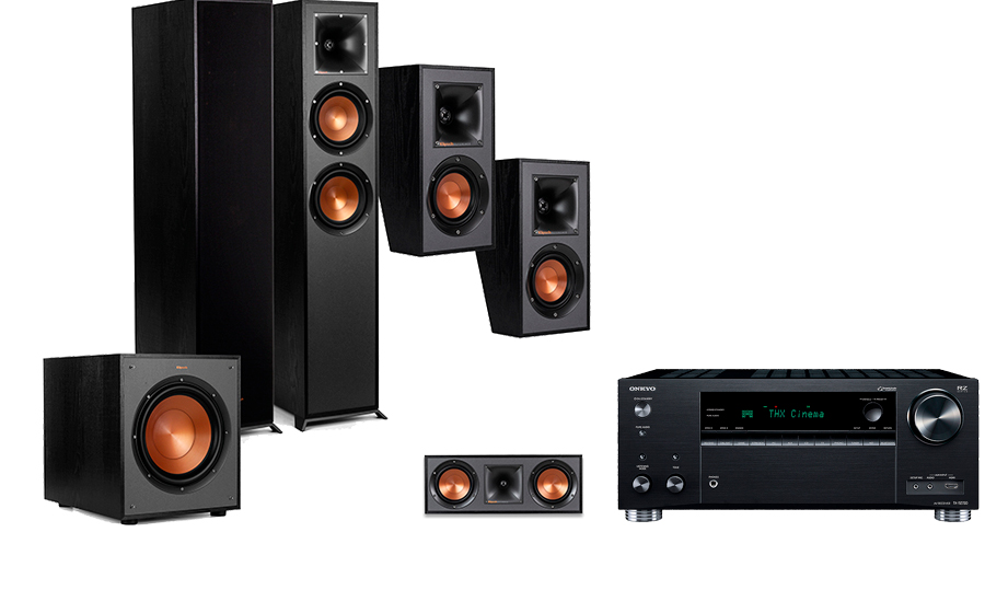 Onkyo TX-RZ730 + R-620F Home Theater System - 29064