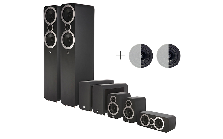 Q-Acoustics 3050i CINEMA PACK DOLBY ATMOS - 29085