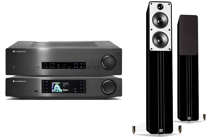 Cambridge Audio CXA80 + CXN V2 + Concept 40 - 29122