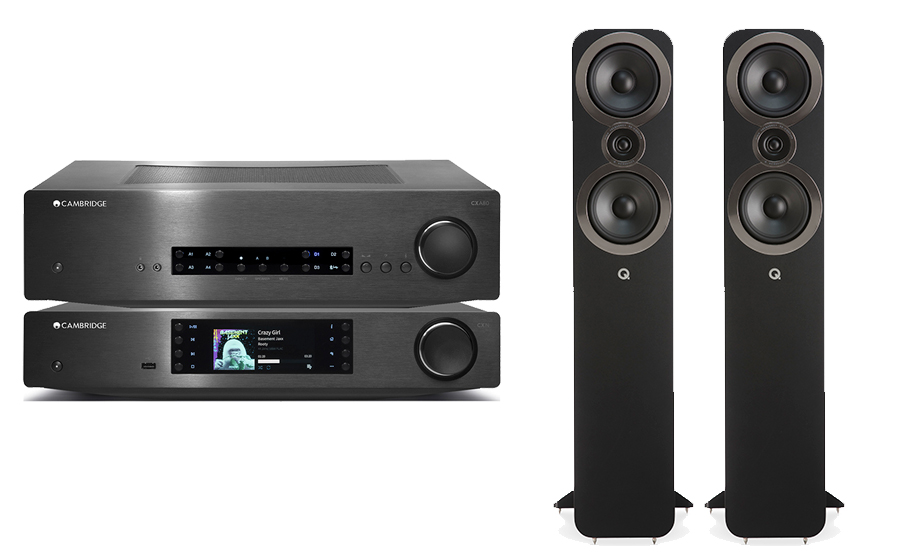 Cambridge Audio CXA80 + CXN V2 + Q3050i - 29124