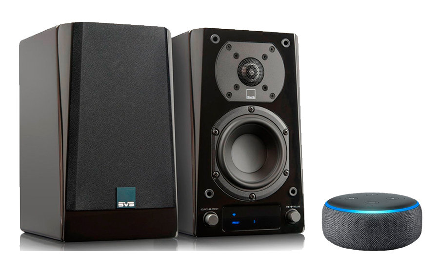 SVS Prime Wireless Speaker System + Echo Dot - 29329